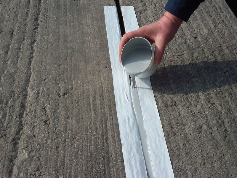 Control Joint And Expansion Joint Filling