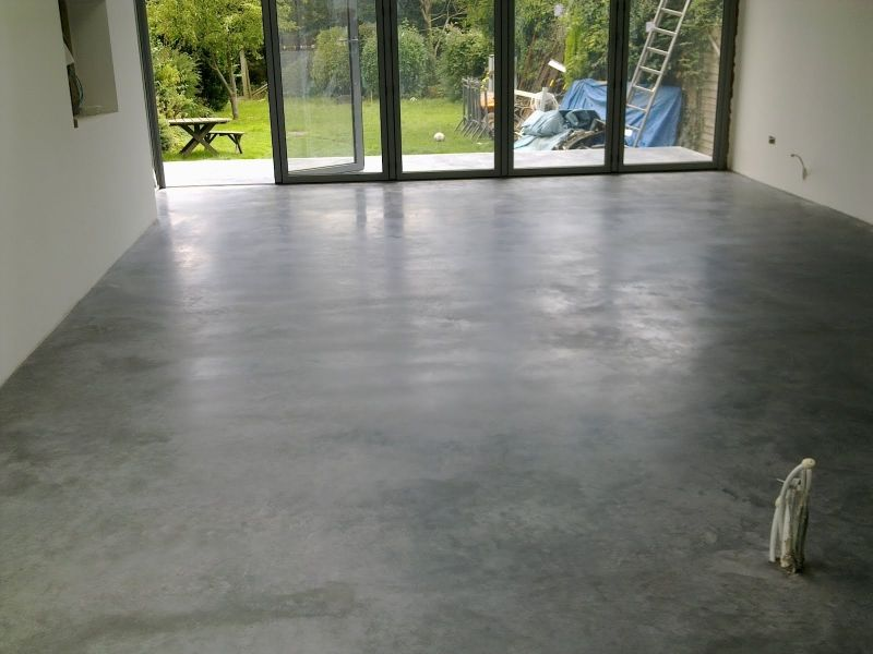 How To Finish Cement Floors Mycoffeepot Org