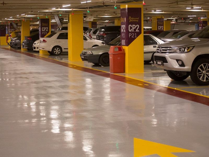Epoxy Car Parking