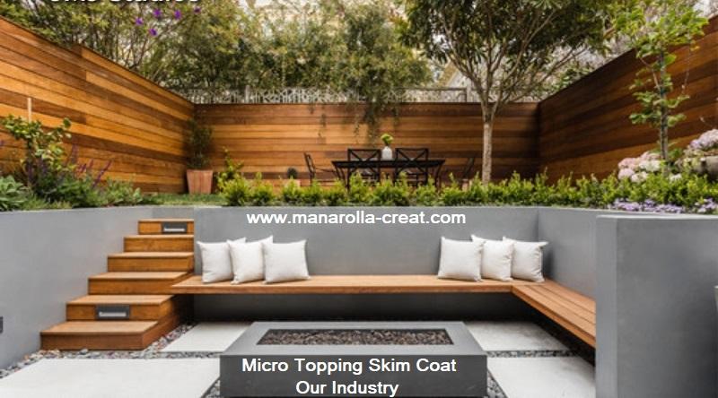 Micro Topping Skim Coat Gallery