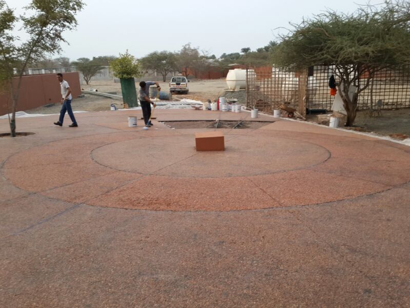 Exposed Aggregate Project