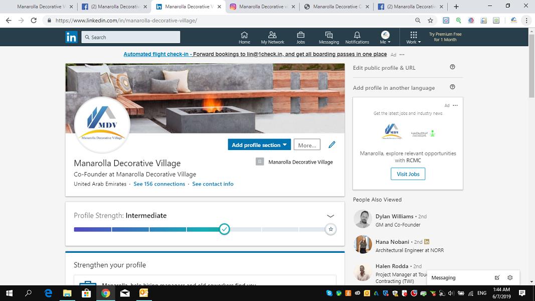 Manarolla Decorative Village in Social Media